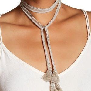 Chan Luu Chiffon Necklace